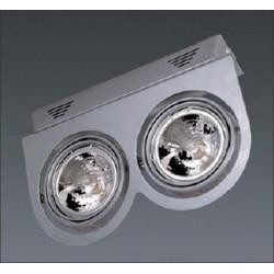 Applique basse tension pour lampes AR111 CE 2002