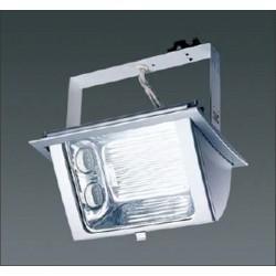 Encastré fluo compacte rectangulaire 2x26W CE 3401