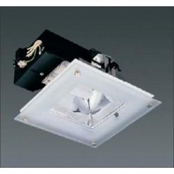 ncastré fluo compacte carré 2x26w CE 3402