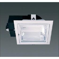 Encastré fluo compacte carré 2x26W CE 3403