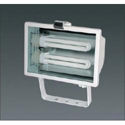 Projecteur exterieur fluo compacte IP54 2x26W CE 6301