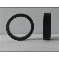 Bague d'étanchéité noire pour douilles E27 pour guirlande electrique