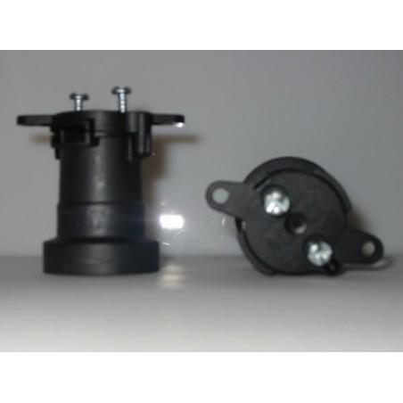 Douille E27 pour guirlande électrique, et fixation pour câble plat