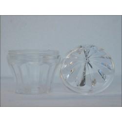 Kit cabochon cristalblanc transparent