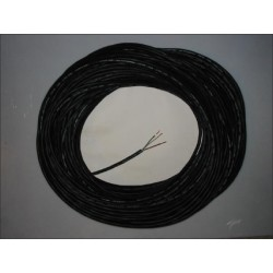 Câble noir souple élastomère maxi 3500 Watts