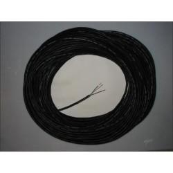 Câble noir souple élastomère maxi 5500Watts