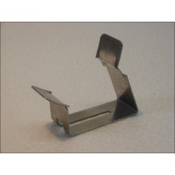 Clips inox ressort orientable pour fixation sur douille E27