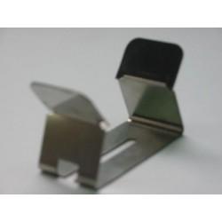 Clips inox ressort pour fixation sur douille E27