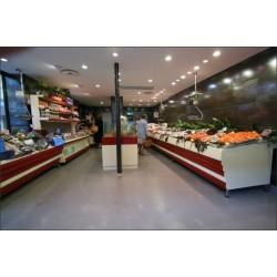 Éclairage boutiques, magasins alimentaires poissonnerie