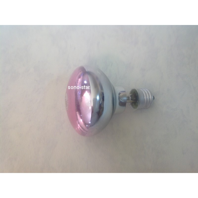 LAMPE R80 HALOGENE ROSE