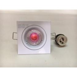 SUPPORT FIXE LED GU10 A ENCASTRE+LAMPE R4