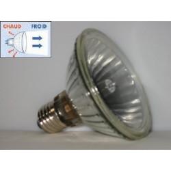 Lampe halogène faisceau froid, Diam 95 mm
