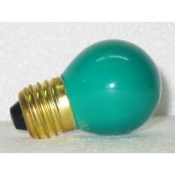 lampe sphérique de couleur verte 15W E27