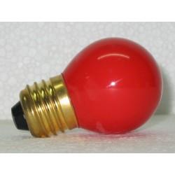 lampe sphérique de couleur rouge 15W E27