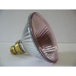 Par 38 rosée halogène 100W E27 flood 30° diamètre 125mm